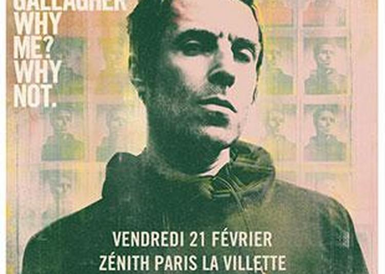 Liam Gallagher à Paris 19ème
