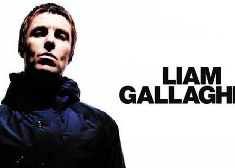 Liam Gallagher à Paris 9ème