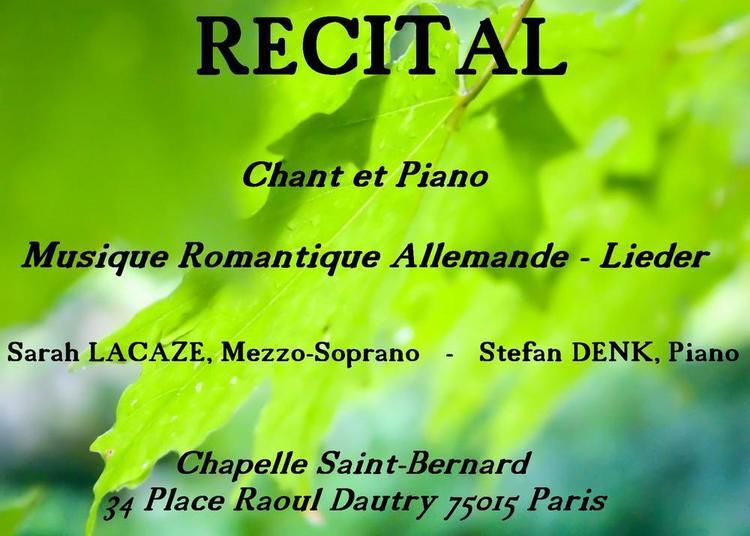 Lieder    Musique Romantique Allemande à Paris 15ème