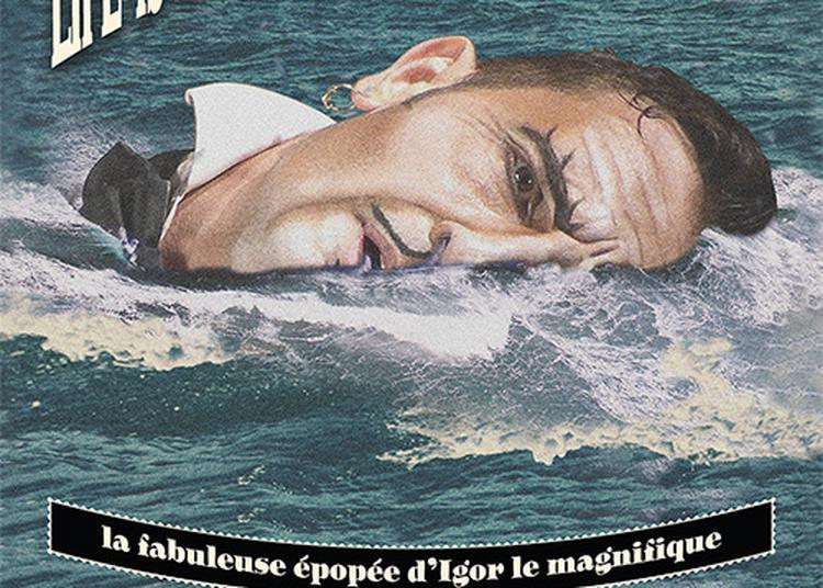 Life is a bathroom and I am a boat à Lyon