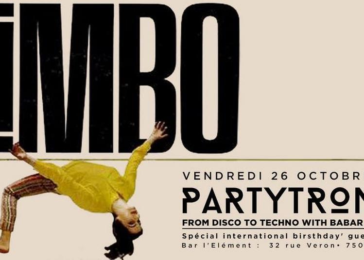 Limbo' PartyTronic à Paris 18ème