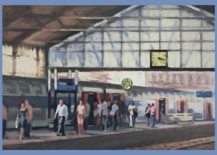 Lionel Tréboit   Flânerie En Capitale   Peintures Et Dessins à Paris 6ème