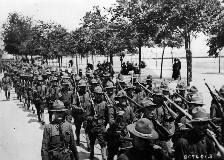 Little America, Saint-nazaire 1917-1919 à Saint Nazaire