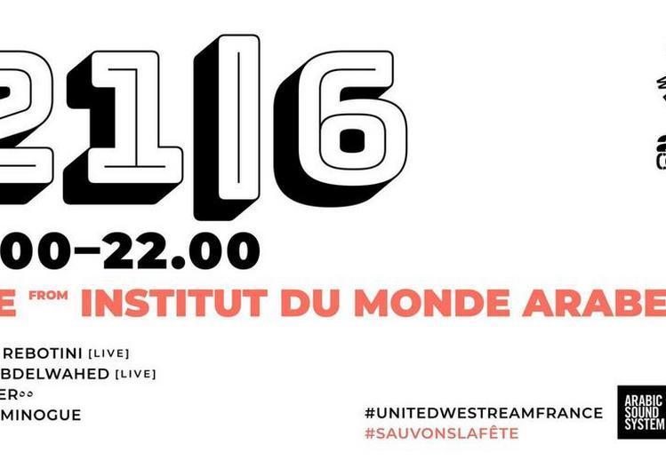 Live à L'Institut du Monde Arabe à Paris 5ème