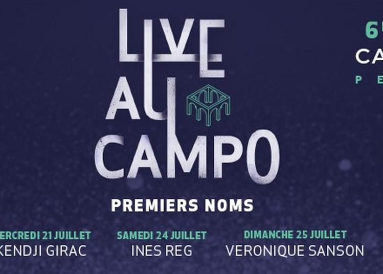 Live Au Campo 2021 - Ines Reg à Perpignan