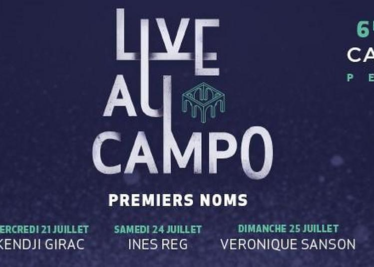 Live Au Campo 2021 - Kendji Girac à Perpignan