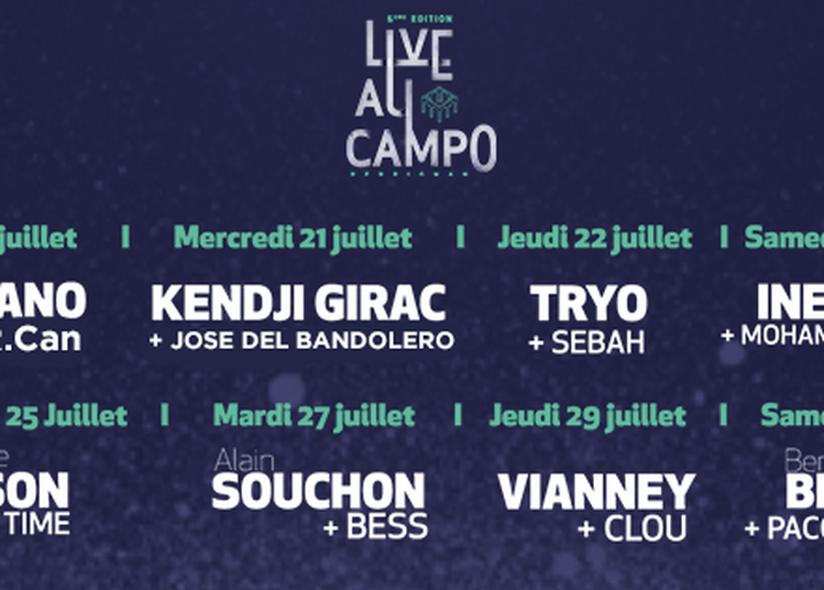 Live Au Campo 2021