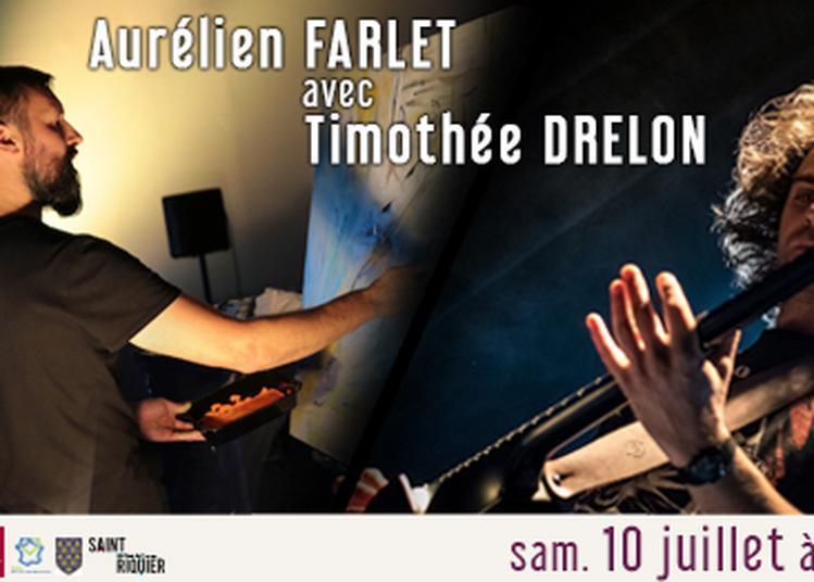 Live Painting par Aurélien Farlet, avec Timothée Drelon à Saint Riquier