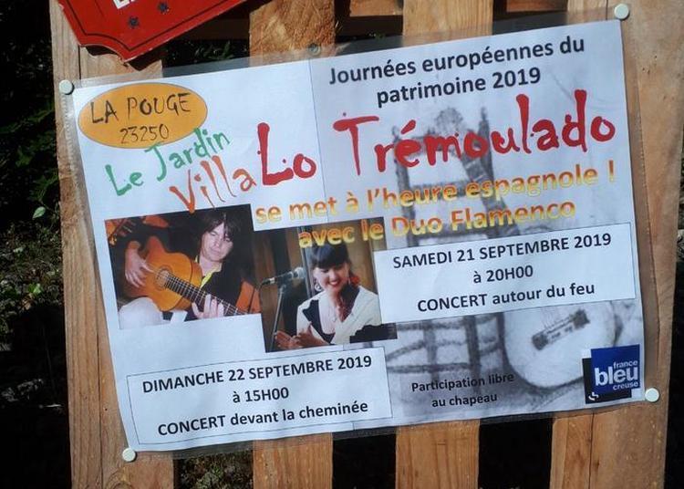 Lo Trémoulado Se Met À L'heure Espagnole Avec Le Duo Flamenco à La Pouge