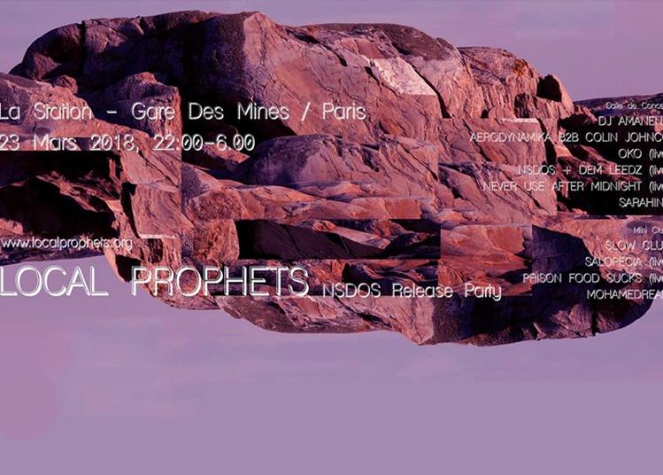 Local Prophets à Paris 18ème