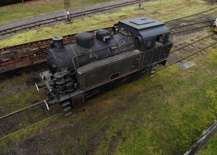 Locomotive Art Déco à Saint Quentin