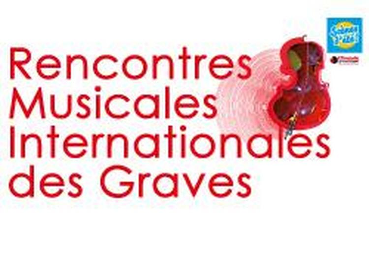 20èmes Rencontres Musicales Internationales des Graves 2019