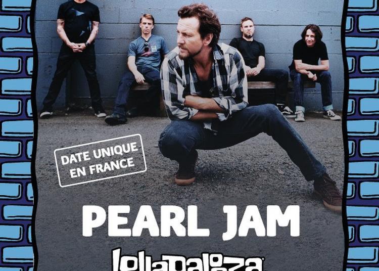 Lollapalooza Paris Pearl Jam à Paris 16ème