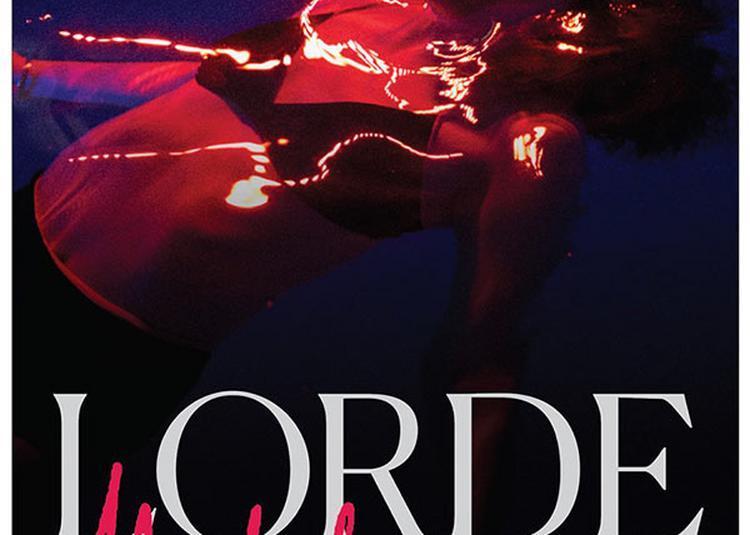 Lorde à Paris 19ème