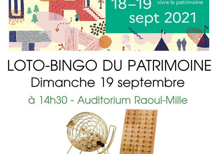 Loto-bingo Du Patrimoine à Chateauneuf les Martigues