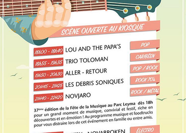 Lou And The Papa's / Trio Toloman / Aller-retour / Les Debris Soniques / Novjaro à Taverny