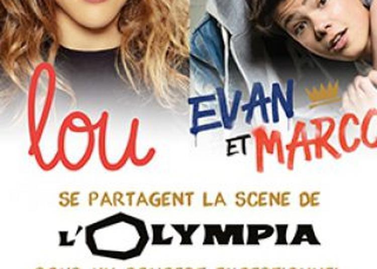 Lou, Evan & Marco à Paris 9ème