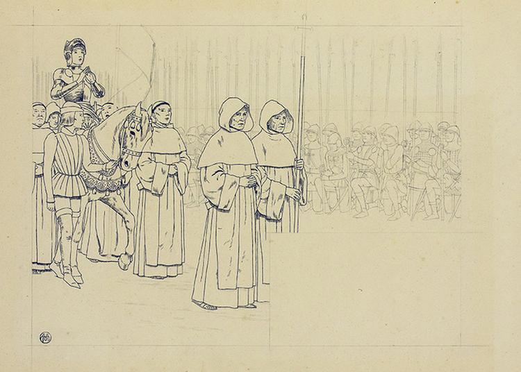 Louis-maurice Boutet De Monvel Face à Jeanne D'arc, La Fabrique D'une Icône à Orléans