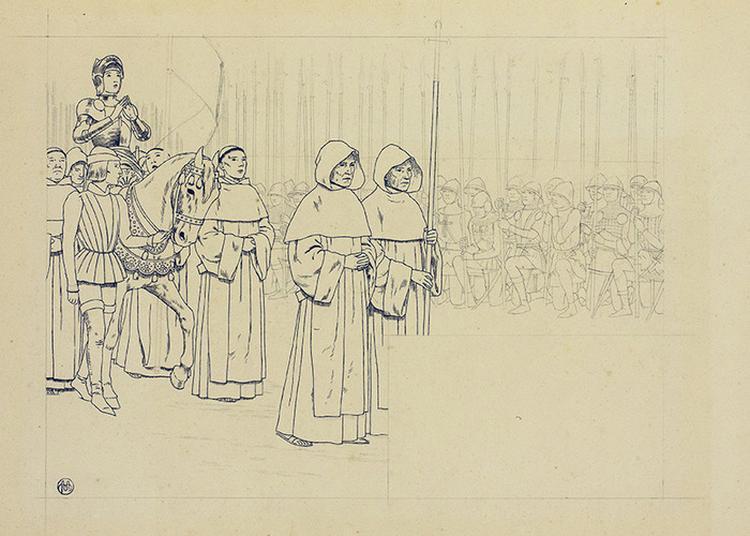 Louis-maurice Boutet De Monvel Face à Jeanne D'arc, La Fabrique D'une Icône. à Orléans