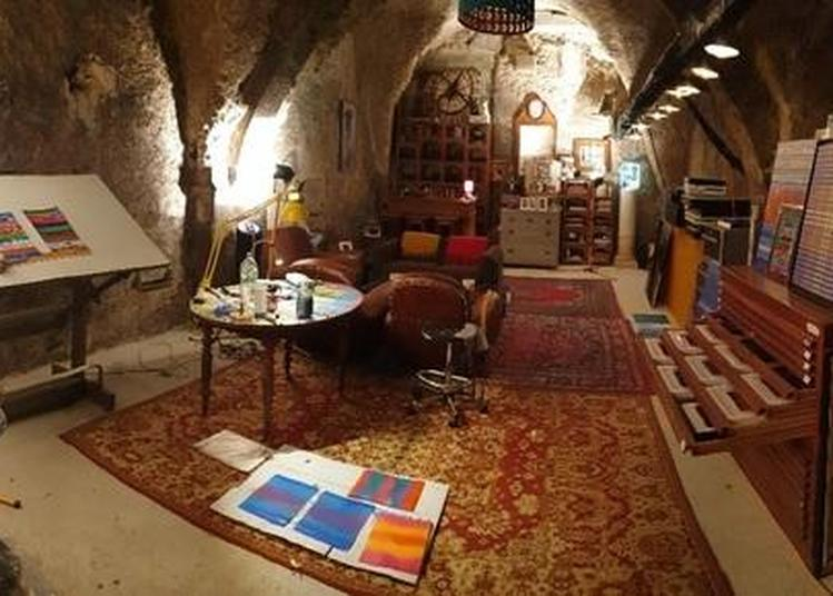 Ludovic Vesseaux Expose Ses Oeuvres Dans La Cave De Son Immeuble Et Partage Sa Passion Pour La Création. à Riom
