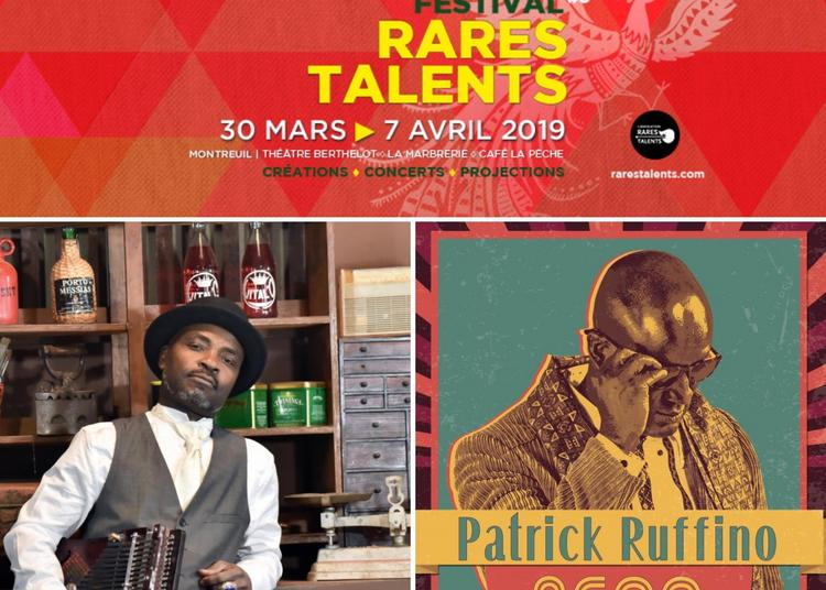 Lulendo et  Patrick Ruffino :: Festival Rares Talents #8 à Montreuil
