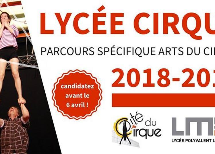 Lycée Cirque : candidatures 2018-2019 date limite à Le Mans