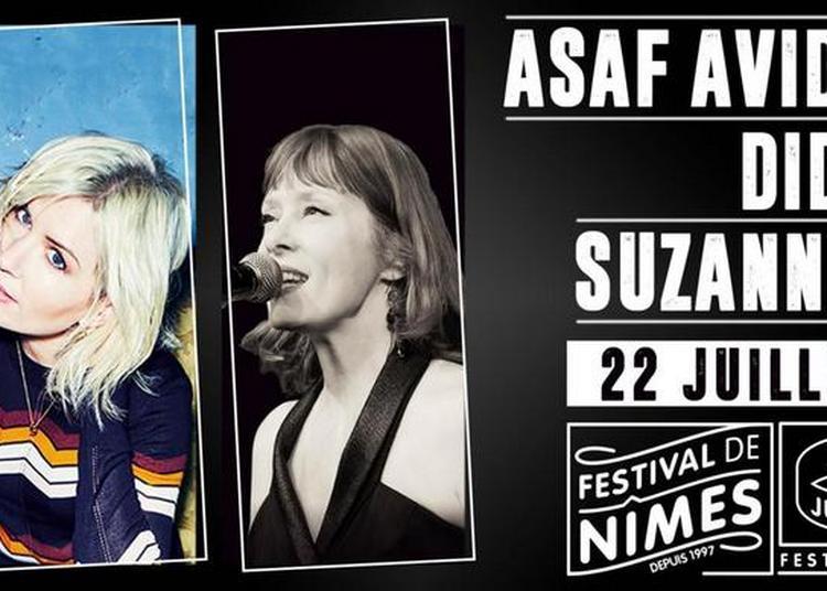 Asaf Avidan & band, Dido, Suzanne Vega à Nimes
