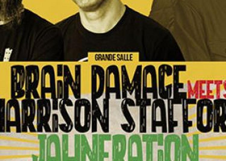 Lyon Reggae Party ! : Jahneration + Brain Damage à Villeurbanne