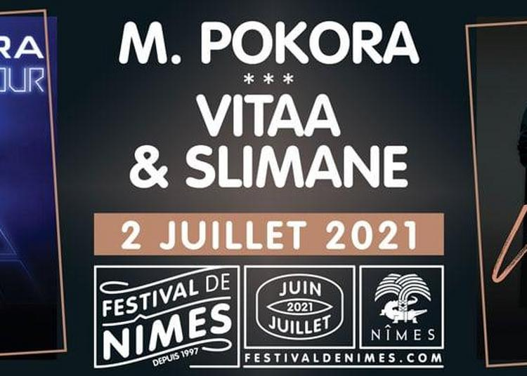 M. Pokora, Slimane et Vitaa - Report à Nimes