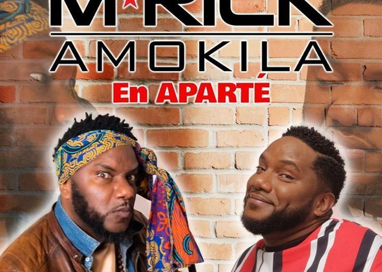 M'Rick Amokila Dans En Aparté à Paris 13ème