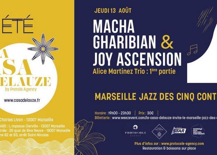 Macha Gharibian-Joy Ascension à Marseille