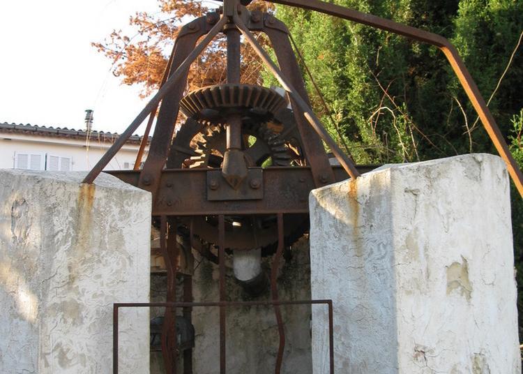 Machine Hydraulique : La Noria à Antibes