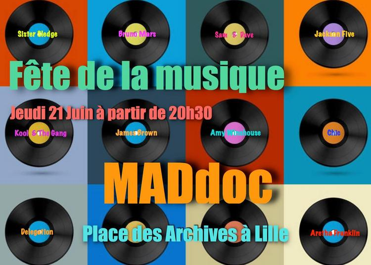 MADdoc (Fête de la Musique 2018 à Lille