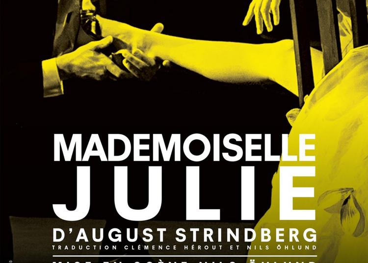 Mademoiselle Julie d'August Strindberg à Paris 6ème