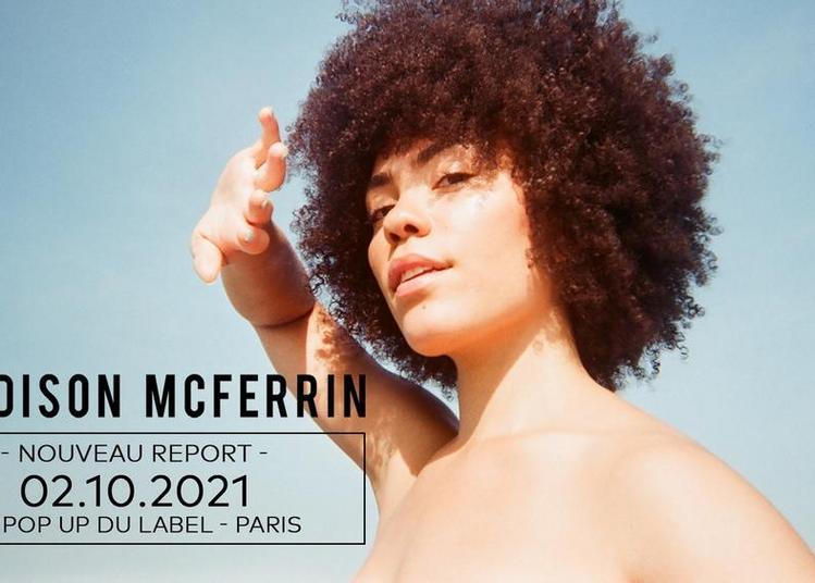 Madison Mcferrin - report à Paris 12ème