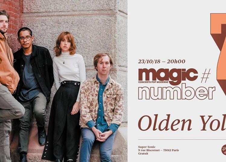 Magic Number #7: Olden Yolk (Trouble In Mind Records, USA) à Paris 12ème