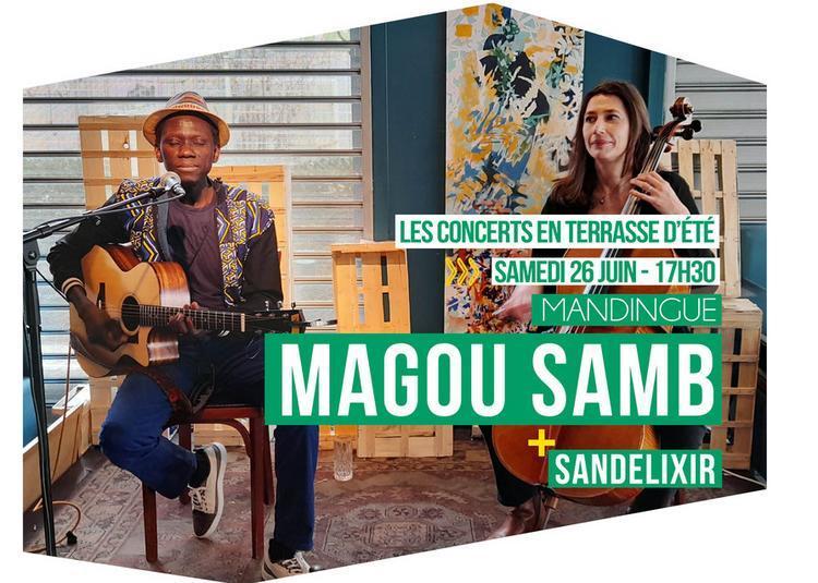 Magou Samb // Mandingue Et Sandelixir à Tremblay en France