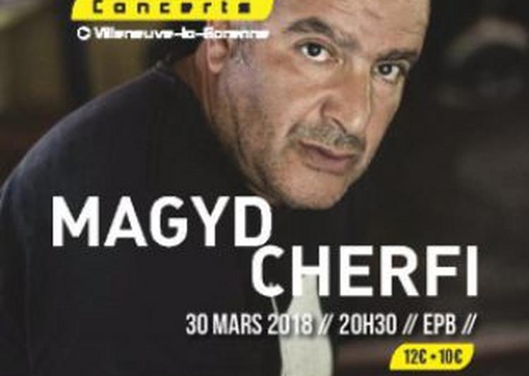 Magyd Cherfi à Villeneuve la Garenne
