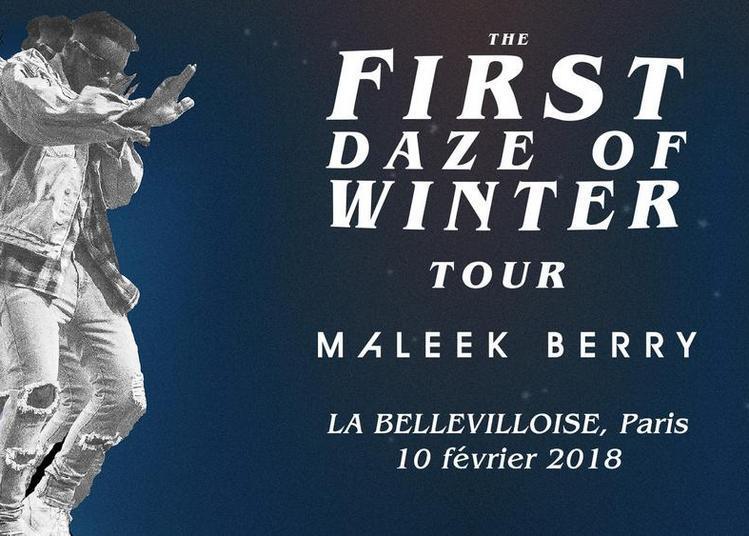 Maleek Berry à Paris 20ème