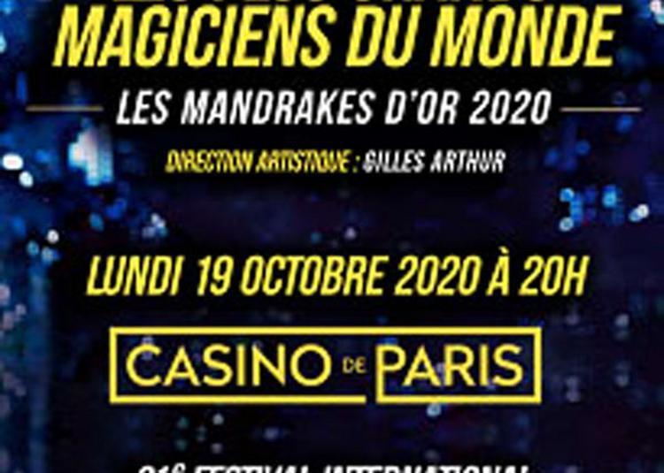 Mandrakes D'Or 2020 à Paris 9ème