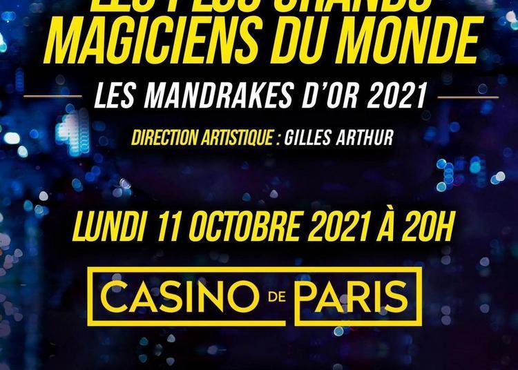 Mandrakes D'Or 2021 à Paris 9ème