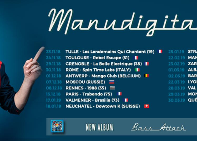 Manudigital En Tournée Pour Son Nouvel Album «bass Attack» à Lyon
