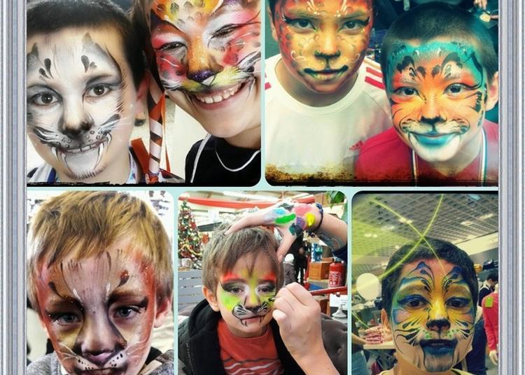 Maquillage Animal à Rouen