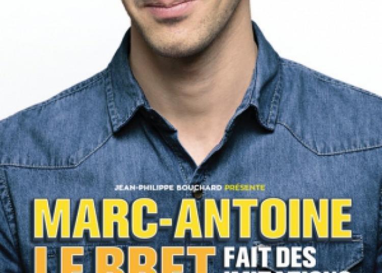 Marc-Antoine Le Bret Fait Des Imitations à Charleville