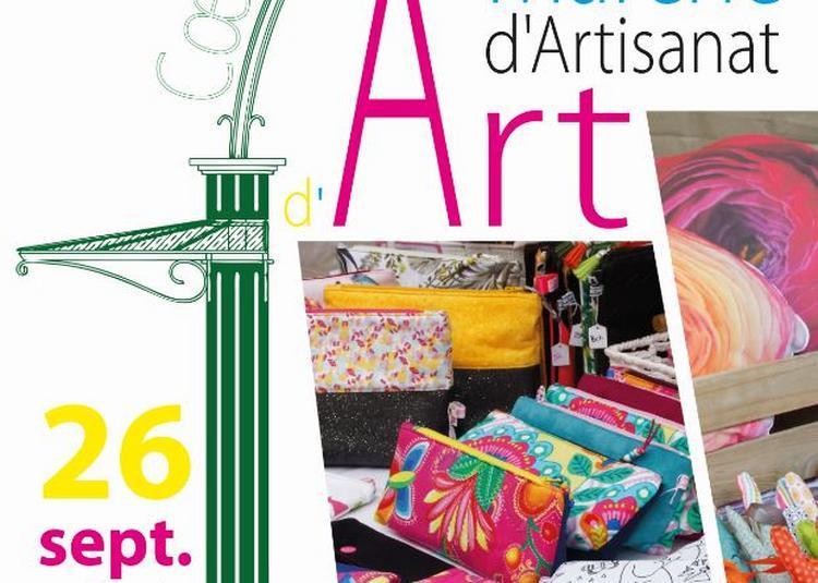 Marché d'artisanat d'art à Verrieres le Buisson