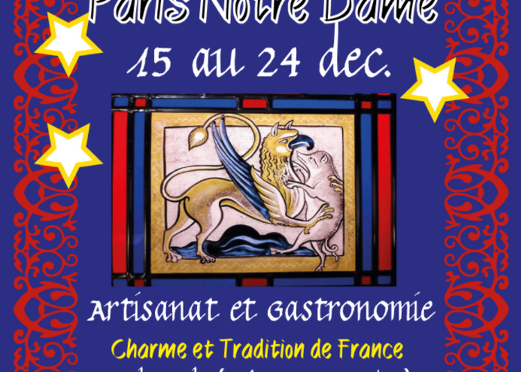 Marché de Noël Paris Notre-Dame 2017