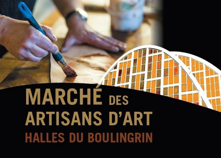Marché Des Artisans D'art Du Boulingrin à Reims