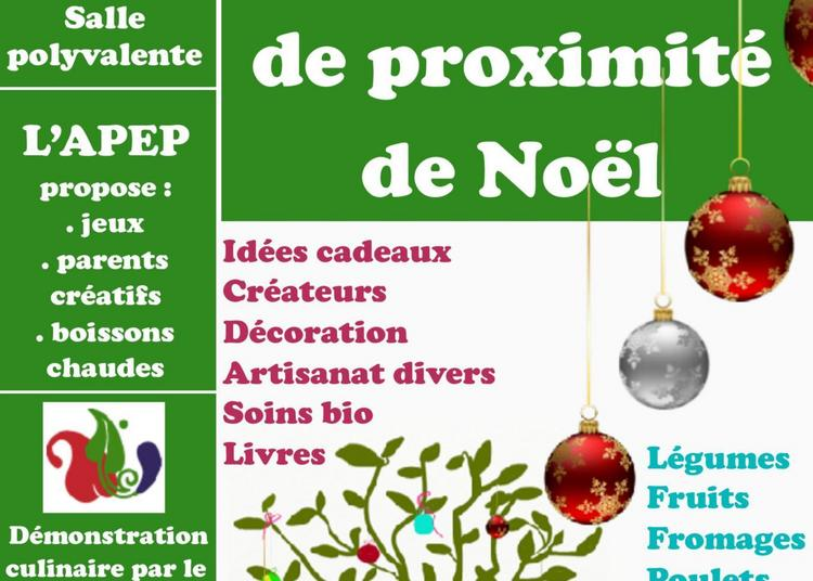 Marché local de Noël à Paradou