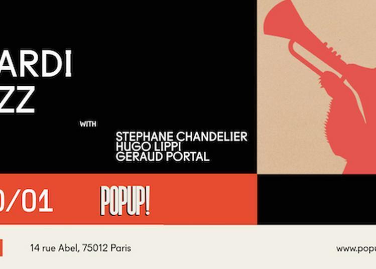 Mardi Jazz Avec S.Chandelier / H.Lippi / G.Portal à Paris 12ème