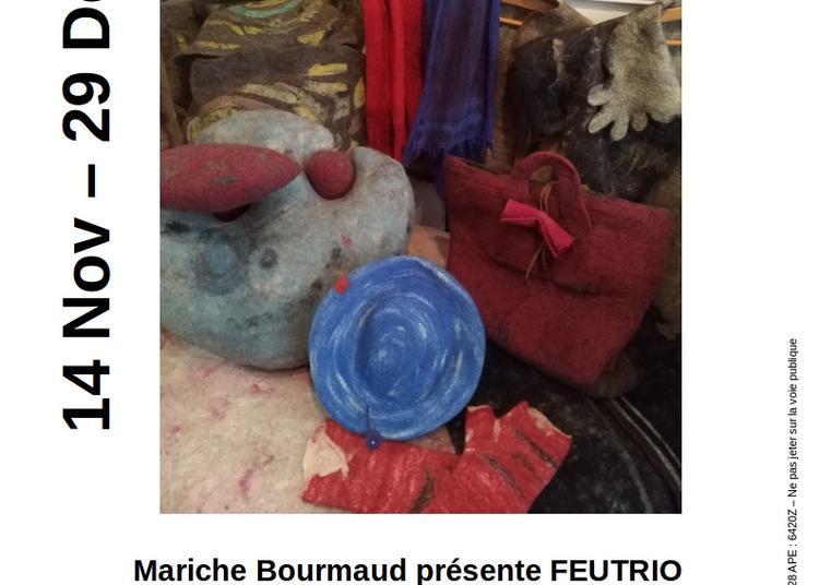 Mariche Bourmaud présente  «Fatra feutré»   Feutrio à Chamalieres
